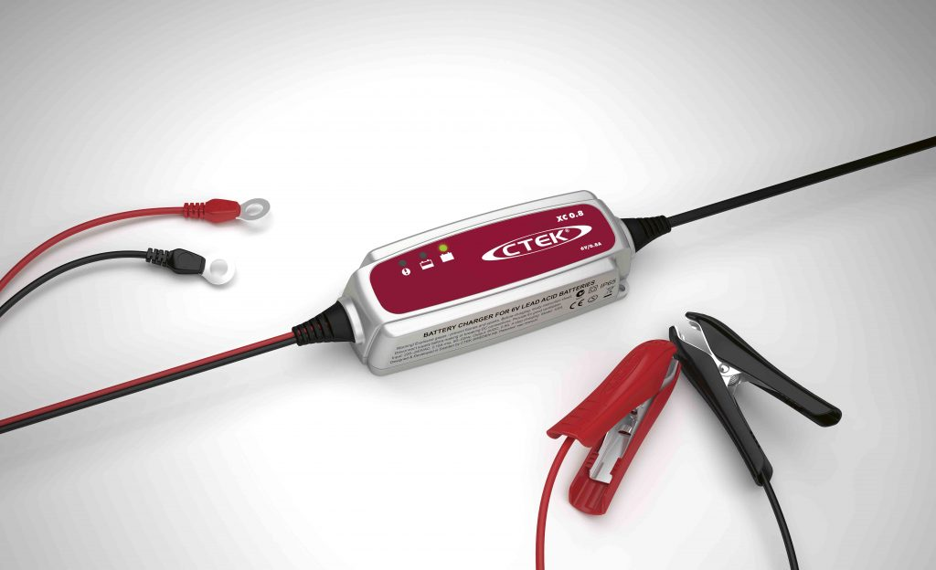 CTEK Chargers – Storing your motorcycle for the winter? Keep it charged up!