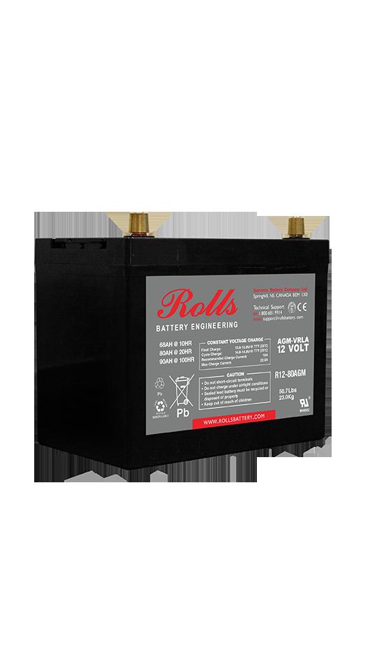 Rolls Series 2 R12-80 AGM