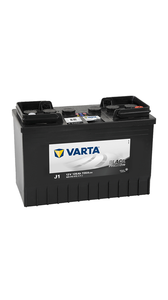Varta 647 Black Promotive - J1