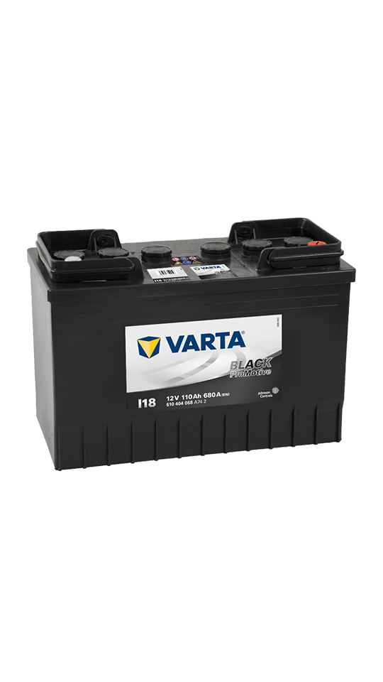 Varta 665 Black Promotive