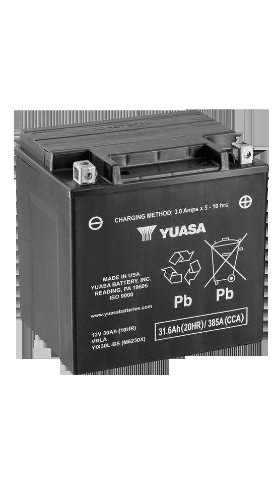 Yuasa YIX30L-BS-PW