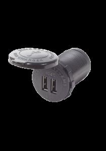 BLUE SEA Dual USB Charger Socket Mount 1045