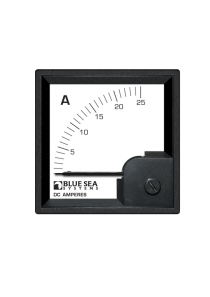BLUE SEA DC DIN Ammeter 0-25A with Shunt 1052
