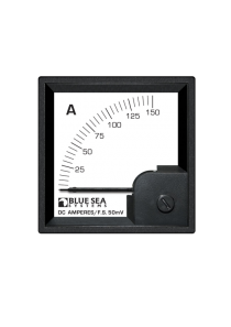 BLUE SEA DC DIN Ammeter 0-150A with Shunt 1055