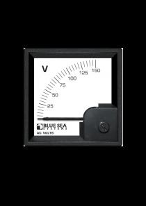 BLUE SEA AC DIN Voltmeter 0 to 150V AC 1056