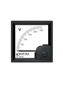 BLUE SEA AC DIN Voltmeter 0 to 250V AC 1057