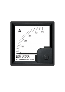BLUE SEA AC DIN Ammeter 0 to 50A with Coil 1058