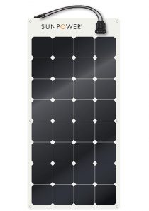 SunPower Flexible Solar Panel SPR-E-Flex-100