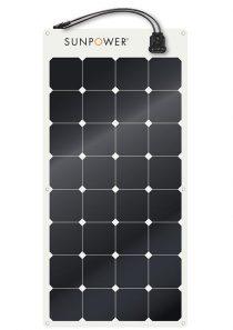 SunPower Flexible Solar Panel SPR-E-Flex-100
