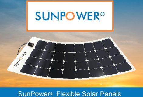 Introducing SunPower® Flexible Solar Panels