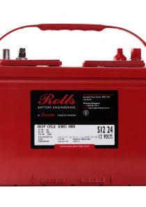 Rolls S12 24 – 12V Series 4000 Battery