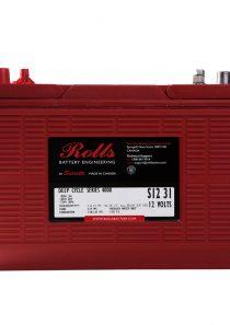 Rolls S12 31 – 12V Series 4000 Battery