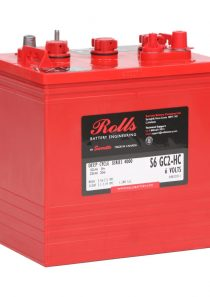 Rolls S6 GC2-HC – 6V Series 4000 Battery