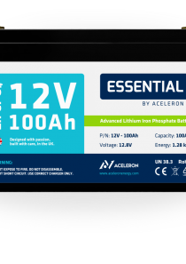 Aceleron Essential – LiFePO4 Battery