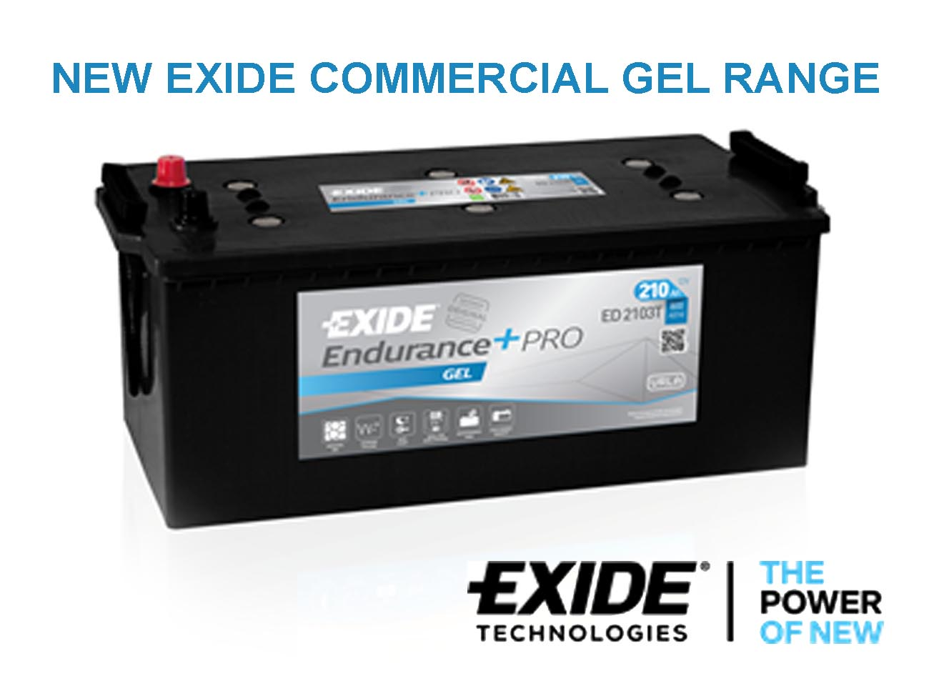 NEW GEL TYPE ADDED TO EXIDE COMMERCIAL VEHICLE RANGE